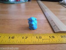 Fred Flintstone 1980's promotional pencil topper figural bust eraser blue