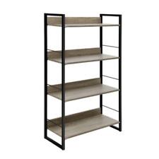 Artiss 4 Tier BookShelf Bookcase Unit Display Shelves