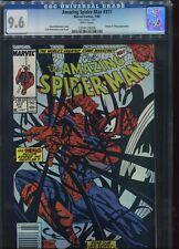 Amazing Spider man#317 CGC 9.6  Mark Jewelers Insert Newsstand UPC Variant