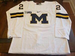 Owen Power #22 Michigan Wolverines Hockey Jersey Buffalo Sabres #1 Pick Size XL