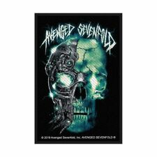 """AVENGED SEVENFOLD - """"BIOMECHANICAL"""" - WOVEN SEW ON PATCH - OFFICIAL - U.K.SELLER"""