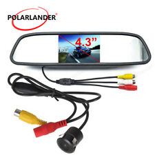 "Night Vision 4.3""TFT LCD Screen 170 Anti-Fog Rearview Camera Car Reverse Monitor"