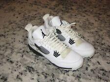 Nike Men's Air Jordan Retro IV MCS Baseball Cleats Sz. 8.5  807709-110