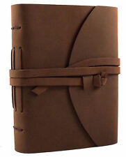 Rustic Genuine Leather Journal Diary Sketchbook Notebook Handmade Blank Vintage