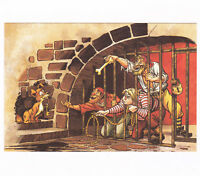 Disney Unused Frameable Artist Rendition Postcard Pirates of the Caribbean Jail