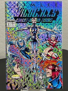 WILDCATS #2 Prism Cover JIM LEE NM MINT SUPER CLEAN WILDC.A.T.S 1992 Key Vintage