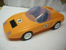 MERCEDES C111 SCALA 1:14 cm 30,  PLASTIC CAR  by CRC made in ITALY ANNI 70 MINT