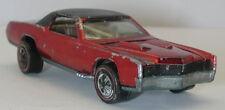 Redline Hotwheels Red 1968 Custom Eldorado