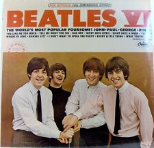 Beatles VI USA Album Still Sealed # 11 - Gold Record Award On Cover