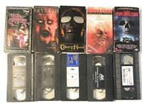 VHS LOT THE PEOPLE UNDER THE STAIRS, TALES FROM THE HOOD, THE DARK CRYSTAL, ETC.