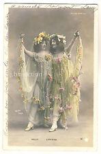EROTIC SHOW GIRLS SELVA & LARIDAN MARIGNY PARIS * Vintage 1900s WALERY Photo PC