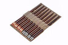 HEIM CONCEPT Japanese Natural Wood Chopstick Set Reusable Chopsticks 8 Pack