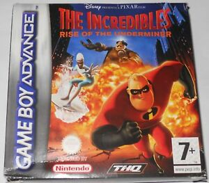 The incredibles -  Rise of the underminer - Gameboy Advance