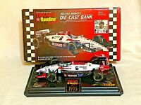 Michael Andretti Die Cast Bank 1995 Indy Car 1/24 Scale