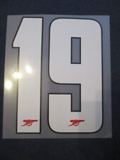 N. 19 Arsenale 2012-2013 CHAMPIONS LEAGUE HOME FOOTBALL SHIRT SET NAME NUMBER