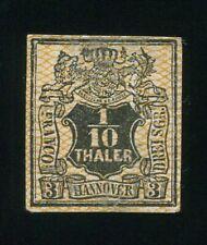 Al7) AD Hanover MiNr 12 (*) UNUSED