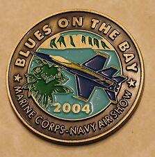 Marine Corps Base Hawaii Blue Angels 2004 Navy Marine Challenge Coin