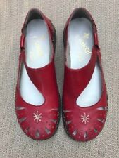 """Women's Reiker """"ANTISTRESS"""" red Mary Jane-style shoes, size 38"""