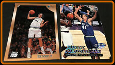 DALLAS MAVERICKS LOT OF 2 DIFFERENT DIRK NOWITZKI 98 TOPPS ROOKIE AND 1999 ULTRA