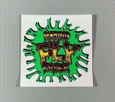 "MADRID Fly Paper Skateboard Sticker 3"""