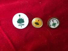 Merion Golf Club 3 Vintage Ball Markers