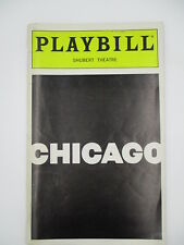 CHICAGO PLAYBILL 1999 w/ TICKET STUB Shubert Threate New York City SANDY DUNCAN