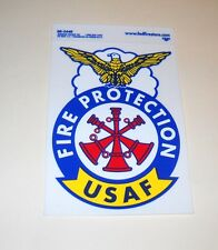 USAF Fire Protection Assistant Chief Badge Decal