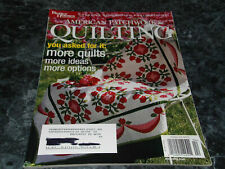 American Patchwork & Quilting Magazine April 2004 Issue 67 Diamonds are Forever
