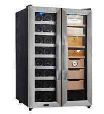 Whynter Freestanding 16-Bottle Wine Cooler and Cigar Humidor Center, 3.6 cu. ft.