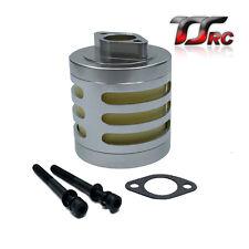 Aluminum Air filter set Silver for 1/5 RC HPI BAJA Rovan King Motor 5B 5T 5SC