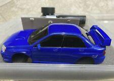 Radio Shack Xmods 1:28 Rc Car Subaru Impreza Wrx Sti Stage 3 Hawk Eye Rally Blue