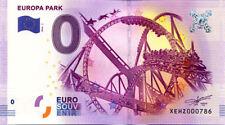 ALLEMAGNE Rust, Europa Park, 2016, Billet 0 € Souvenir