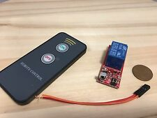 Inferred Ir wireless relay module switch Remote Control 12v C18