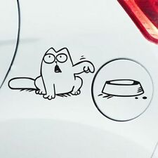 Simons Cat funny car van, bumper, windows, lorry JDM vinyl decal sticker