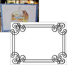 Embossing Folders ORNATE FRAME DARICE folder 1218-31 wedding card making A2 NEW