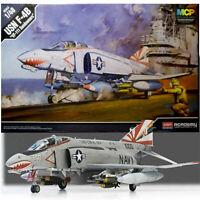 Academy 1/48 USN F-4B VF-111 Sundowners Airplane Toys Kits Military Model 12232
