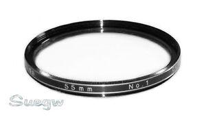 55mm Vivitar Close-Up Lens Filter No. 1
