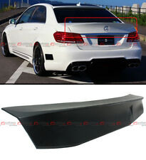 FOR 2010-16 MERCEDES BENZ W212 E63 AMG SEDAN VIP W STYLE HIGHKICK TRUNK SPOILER