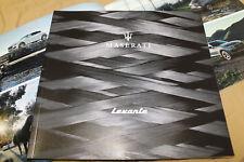 2017 MASERATI LEVANTE Range brochure mini-book Prospekt catalogue 920009787
