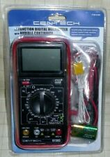 Cen Tech 11 Function Digital Multimeter With Audible Continuity Nib Sealed