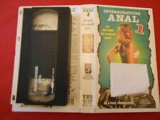 VHS (SECAM) Interrogatoire Anal 1 avec Lana Woods - Adult Movie (1994)