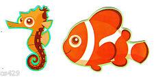 "Disney finding nemo fish wall sticker set sea  peel stick border cut out 2"" inch"