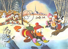 Snow fun - Barks Large signed Litho n. 59/345