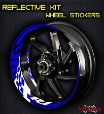 Yamaha YZF R1 INNER RIM DECALS WHEEL STICKERS STRIPES KIT REFLECTIVE tape 17