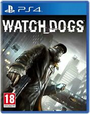 WATCH DOGS WATCHDOGS PS4 Game (PRE OWNED) (USED) Excellent Condition
