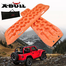 X-BULL Recovery tracks  NEW Sand tracks  Mud Snow Grass 4X4  Caravan 2PC Orange