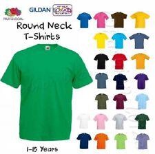 Plain Green T-Shirt Worn Once Age 3-4 Years Boys // Girls