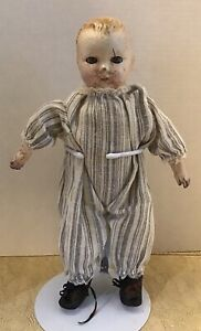 """TLC Composition 13"""" Baby Doll Tin eyes Unmarked"""