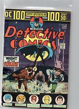 DETECTIVE COMICS #439 100 Page Super Spectacular Batman DC Comics 1974 FN