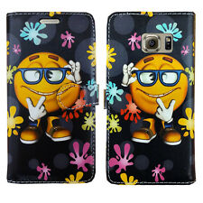 NEW LEATHER WALLET BOOK FLIP PHONE FONE CASE COVER FOR SAMSUNG GALAXY A3 A5 2016